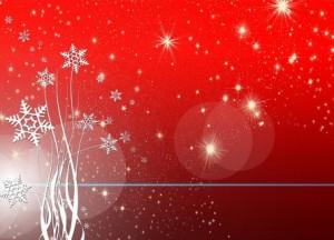 Schneeflocken-rot (Mobile)
